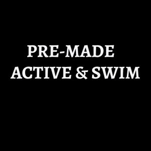 PRE-MADE ACTIVE & SWIM - use the code FORTYOFF for 40% off all items