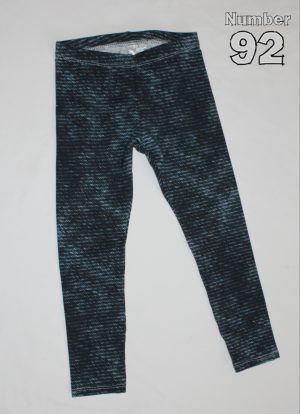 SIZE 4 LEGGINGS – PRE-MADE DENIM LOOK COTTON LYCRA
