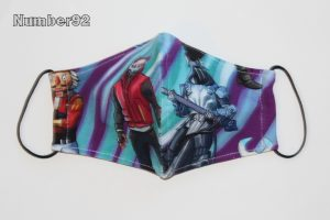 YOUTH SIZE – PREMADE 2 LAYER COTTON FACE COVER – FORTNITE COTTON LYCRA